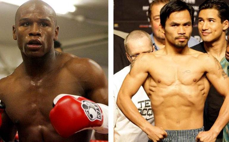 """La-pelea-de--""""Money""""-vs-Pacquiao-pierde-impacto-en-el-público"""