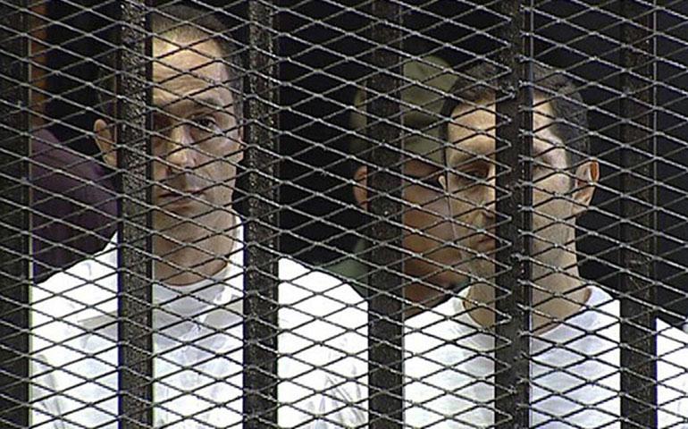 los-hijos-de-mubarak-salen-de-prision