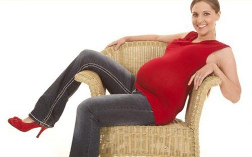 los-tacones-en-el-embarazo