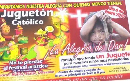realizan-el-jugueton-catolico-en-beneficio-de-ninos-indigenas