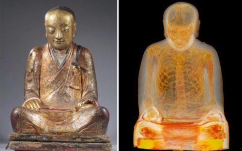 descubren-dentro-de-la-estatua-de-un-buda-a-un-monje-momificado