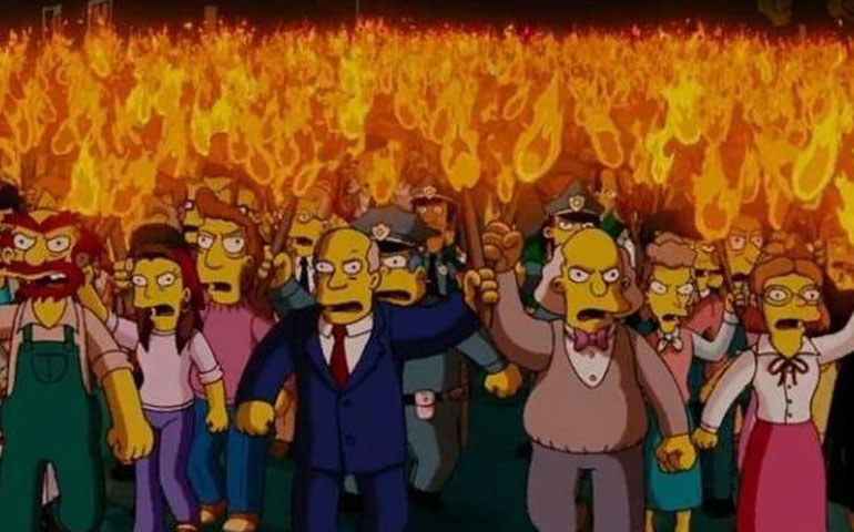 los-simpson-provocan-manifestaciones
