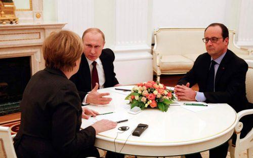 negocian-putin-merkel-y-hollande-el-plan-de-paz-en-ucrania