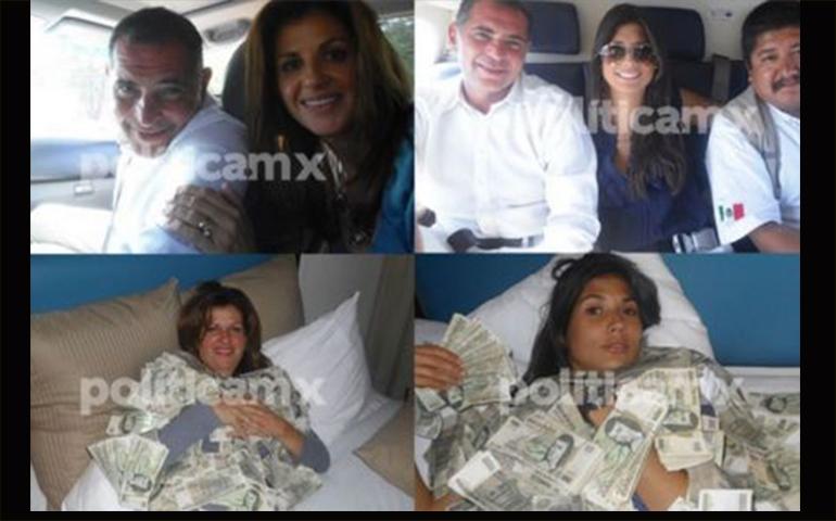acompanantes-el-gobernador-de-oaxaca-posan-con-fajos-de-billetes