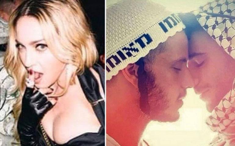 Madonna-provoca-enojo-con-#Foto-de-hombres-a-punto-de-besarse-¿por-qué--