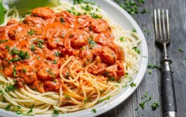 espaguetis-con-camarones-y-crema