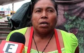 familias-indigenas-asentadas-en-la-plaza-de-la-musica-viven-en-la-miseria