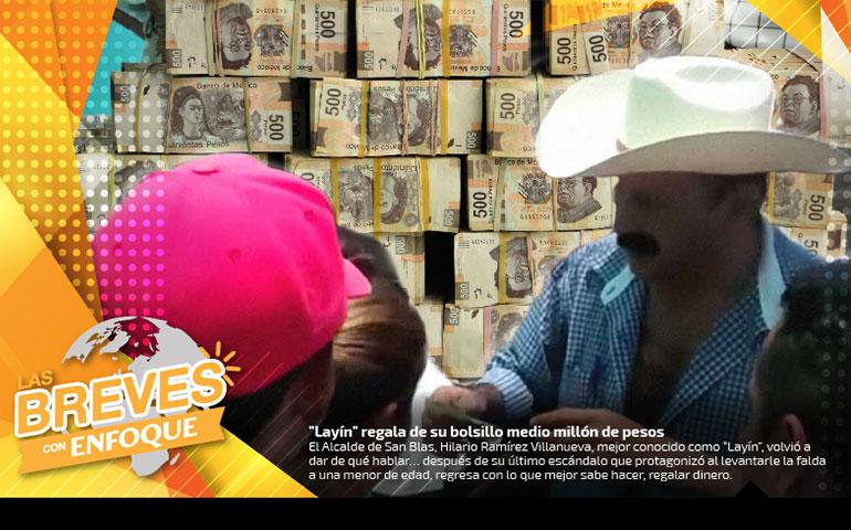 """[08] """"Layín"""" regala de su bolsillo medio millón de pesos"""