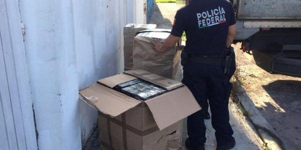 policia-federal-asegura-cigarrillos-presuntamente-importados-ilegalmente-en-nayarit