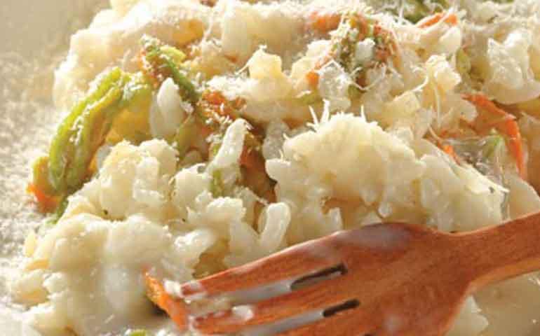 risotto-con-flor-de-calabaza