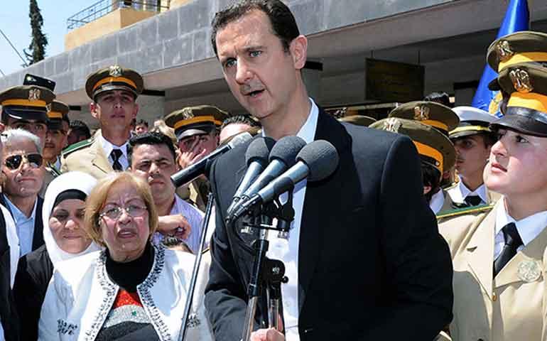 presidente-sirio-ofrece-convocar-a-elecciones