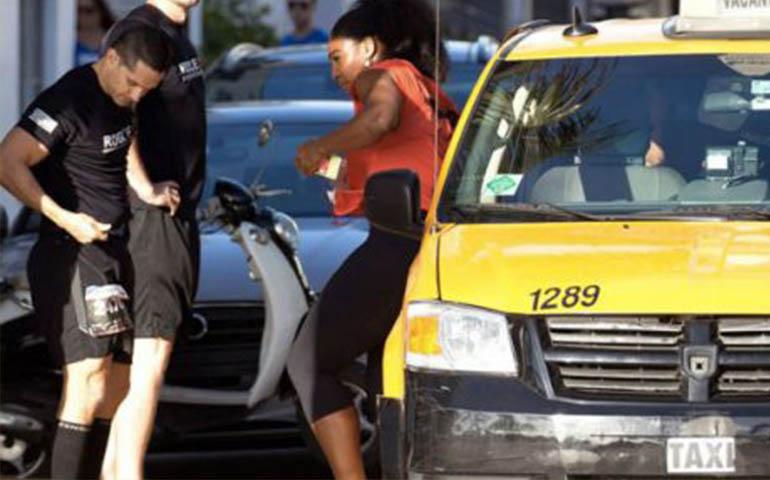 serena-williams-hace-trampa-en-carrera-benefica-y-toma-taxi