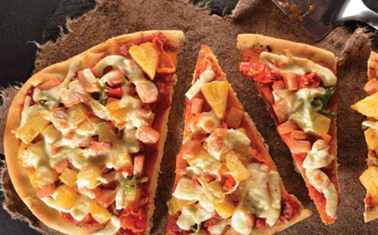 Pizza-hawaiana