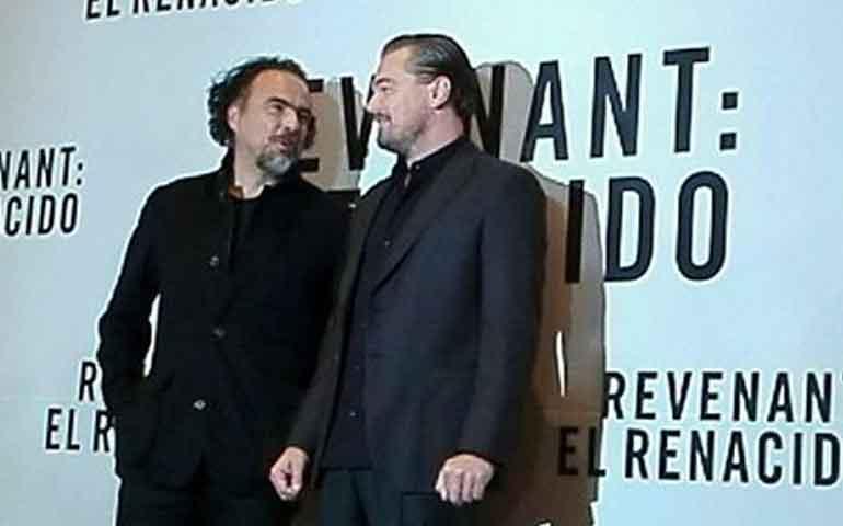 conferencia-de-prensa-con-leonardo-dicaprio-e-inarritu-se-salio-de-control