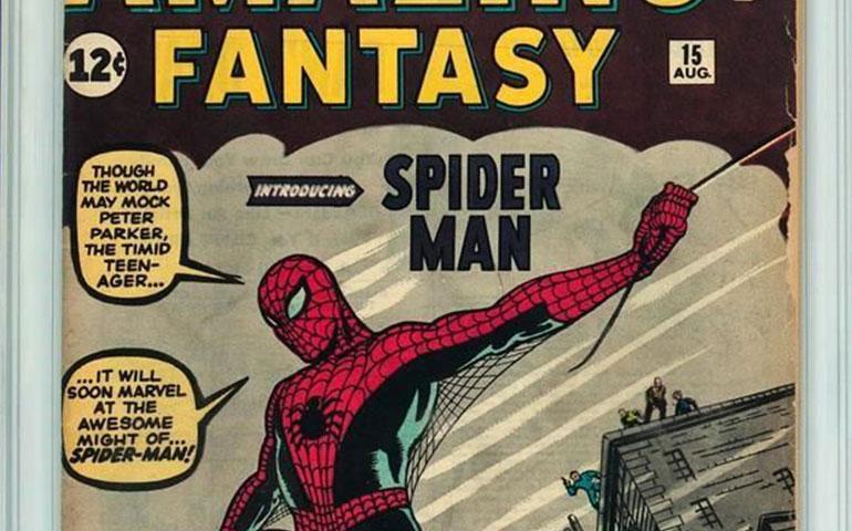 subastaran-historieta-de-spider-man