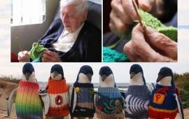 hombre-de-109-anos-teje-sueteres-para-pinguinos-rehabilitados