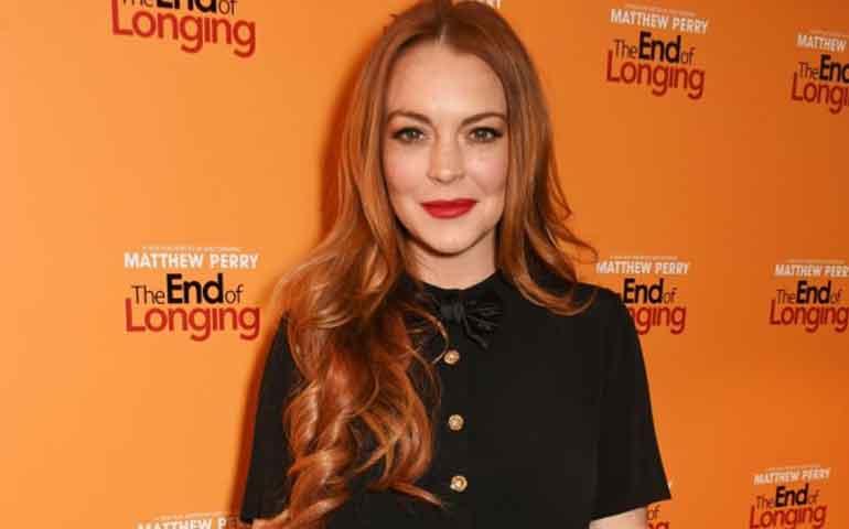 Lindsay Lohan dice que le negó a Harry Styles