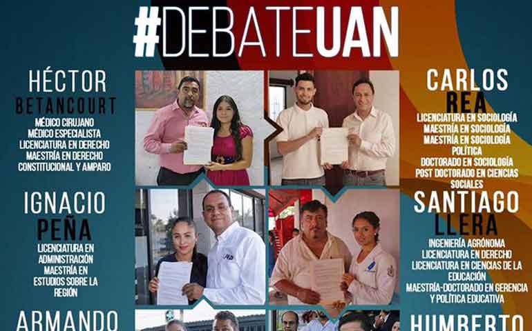 habra-debate-este-viernes-entre-aspirantes-a-rector-de-la-uan