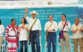 inaugura-roberto-unidad-medica-rural-y-sistema-de-agua-potable-en-peyotan