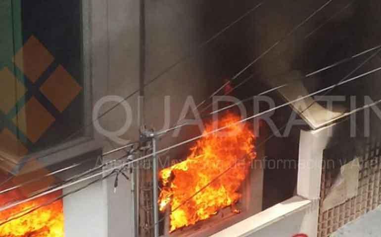 maestros-incendian-oficinas-en-chilpancingo-guerrero