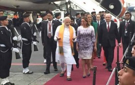 primer-ministro-indio-arriba-a-la-ciudad-de-mexico
