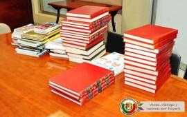 congreso-recibe-importante-donacion-de-libros