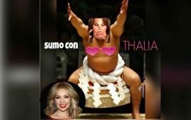 Thalía anda muy burlona, primero ataca a Mario Bautista y ahora a Elba Esther
