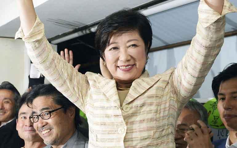 tokio-elige-a-la-primera-gobernadora-de-su-historia