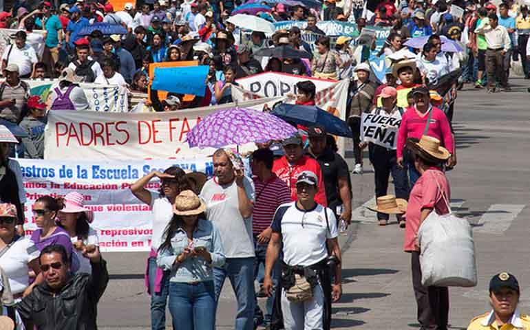 afectaciones-por-marchas-de-cnte-ascienden-a-115-mil-mdp-coparmex