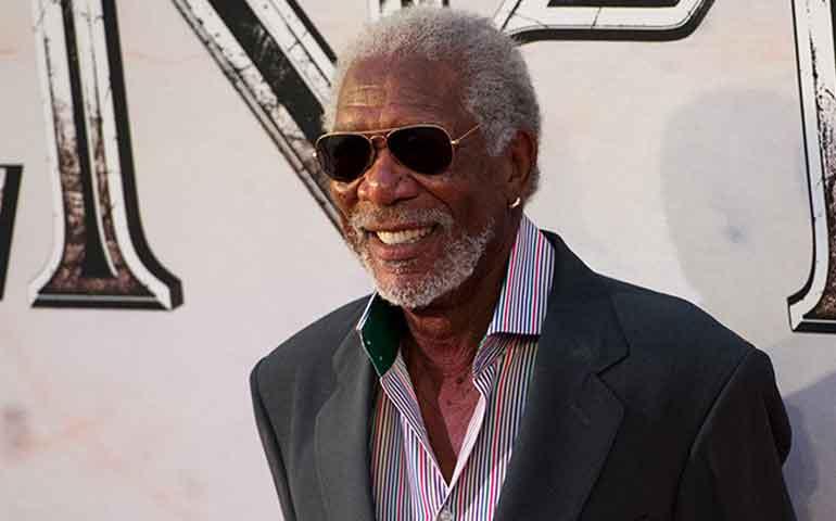 Morgan Freeman, emocionado de promover 'Ben-Hur'