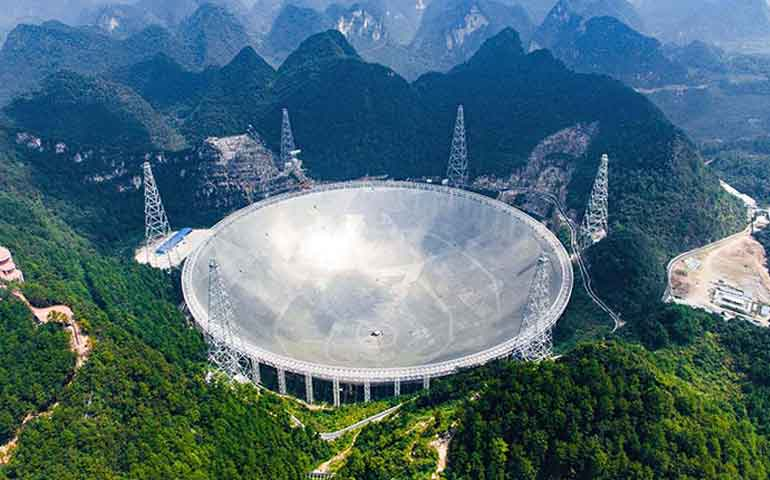 china-estrena-el-mayor-radiotelescopio-del-mundo