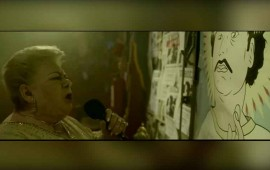 Paquita la del barrio le canta a Pablo Escobar