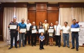 Entregan Premio Estatal de Periodismo Deportivo 2016