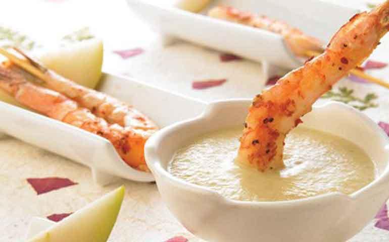 camarones-en-salsa-de-pera