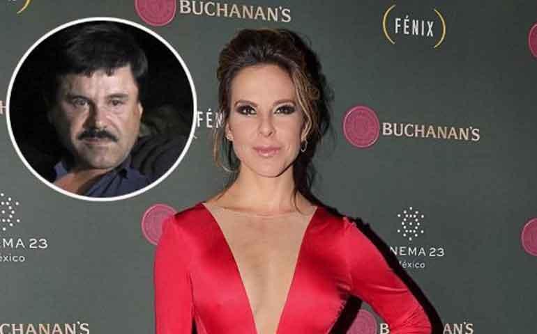 Kate del Castillo realizará película del Chapo
