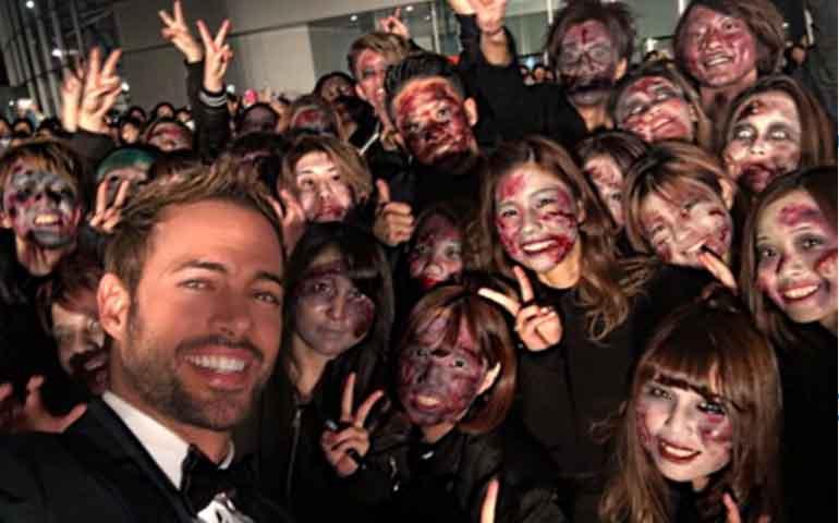 """William Levy conquista Japón con """"Resident Evil: Capítulo Final"""""""