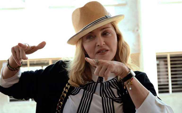 "Censuran a Madonna por comentarios ""antiTrump"""
