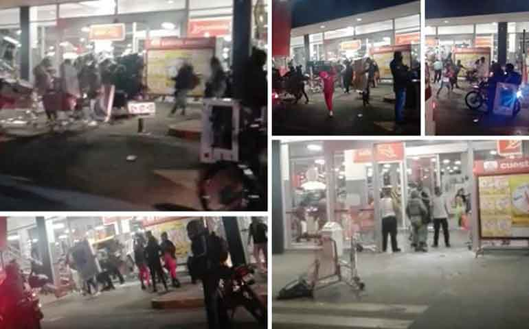 suman-161-detenidos-por-rapina-y-actos-vandalicos-a-supermercados