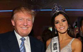 Donald Trump escogía a las finalistas de Miss Universo: Mónica Noguera