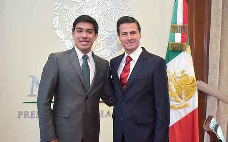 pena-nieto-recibe-a-mexicano-que-recluto-la-nasa-para-estudiar-a-marte