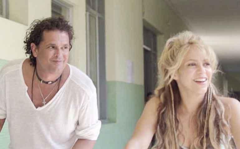 """Shakira y Carlos Vives sobre plagio de """"La Bicicleta"""""""