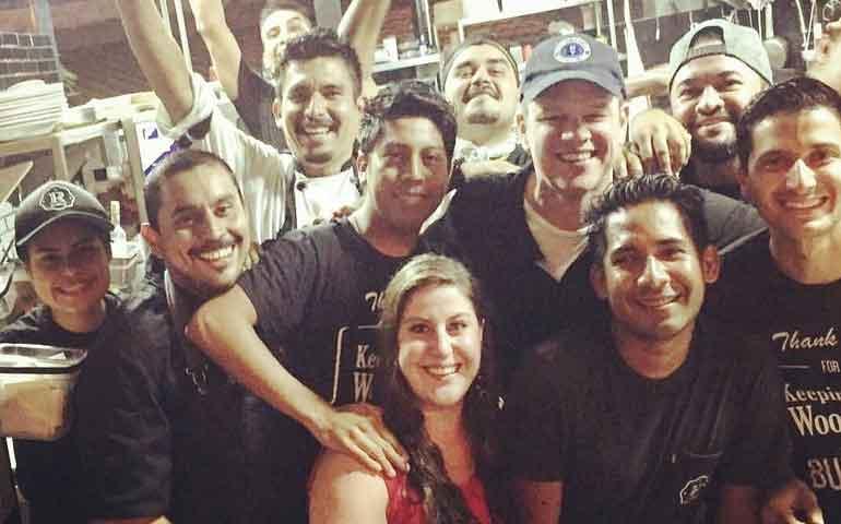 Matt Damon y muchos famosos más en Riviera Nayarit