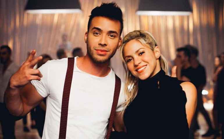 """Prince Royce y Shakira lanzarán videoclip de """"Deja vu"""""""