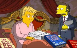 "VIDEO--""Los-Simpson""-critican-al-presidente-Donald-Trump"
