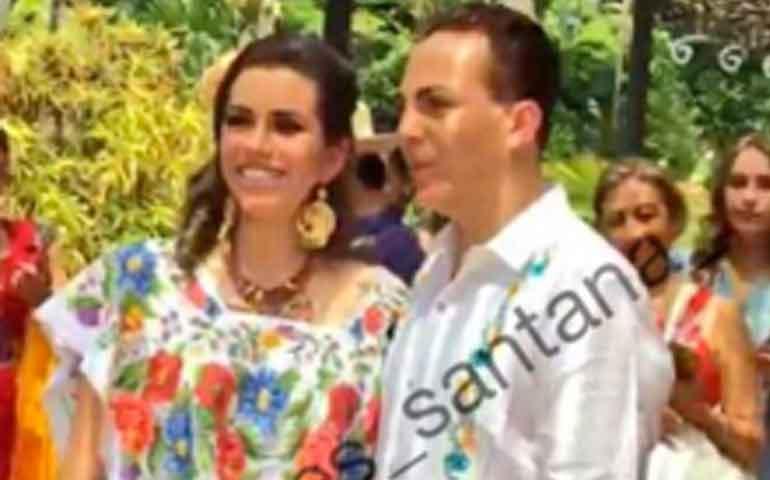 Cristian Castro se casó por tercera vez en Yucatán
