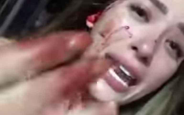 VIDEO--Golpean-a-Brenda-Zambrano-sexy-integrante-de-Acapulco-Shore-