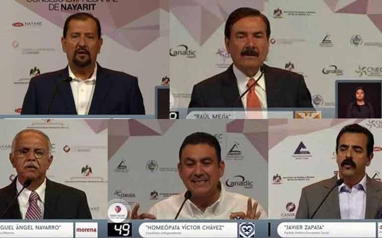 debaten-solo-5-de-los-8-candidatos-a-gobernador