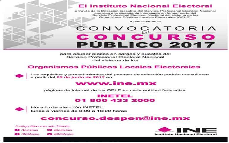 convoca-ine-a-cargos-o-puestos-del-servicio-profesional-electoral