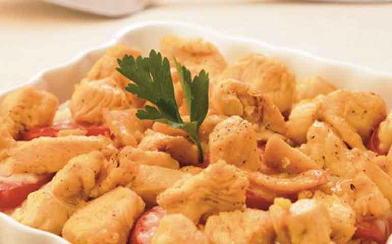 Molde-de-pollo-gratinado-