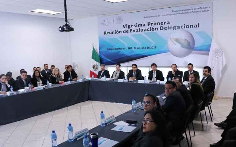 realiza-pgr-vigesima-primera-reunion-plenaria-de-evaluacion-delegacional